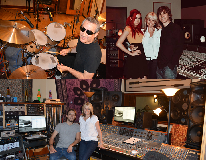Recording and mixing Healer with Bill Jaffa, Ken Mary and Miss Krystle