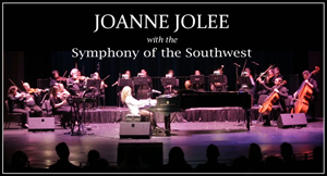 Joanne Jolee with the Symphony of the Southwest